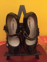 Carter's. black formal shoes girls sz 11 in Naperville, Illinois