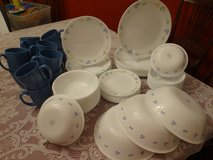 Corelle dishes Secret Garden service for 12 great condition in Huntsville, Texas