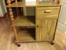 moving cart middle island cabinet in Orland Park, Illinois