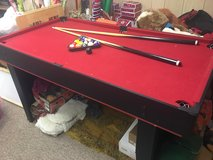 Teen pool table in Orland Park, Illinois