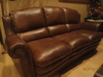 Leather Couch, Chair and Ottoman in Fort Leonard Wood, Missouri