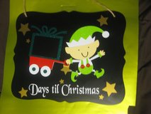 Christmas Count Down Board in Beaufort, South Carolina