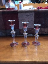 Egyptian Glass Candlesticks in Ramstein, Germany