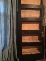 BOOKSHELF/reclaimed butlers door in Fort Campbell, Kentucky