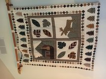 Woodland wall hanging/ quilt in Morris, Illinois