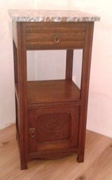 Antique art nouveau night stand - circa 1910 in Ramstein, Germany