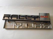 GMC RALLY emblems  NEW, never installed in Travis AFB, California