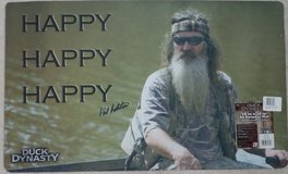 """Duck Dynasty All Purpose Welcome Mat 18"""" x 30"""" Rug Phil Robertson Happy - New in Conroe, Texas"""