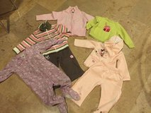 Lot of winter baby girl sz18m clothes in Morris, Illinois
