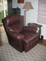 Leather Recliner by Lane Furniture in Yorkville, Illinois