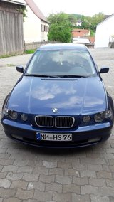 BMW 318 ti automatic  compact 2004 Xenon AC New Inspection !! Nice car ! in Hohenfels, Germany