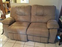 Loveseat - double recliner in Dover, Tennessee