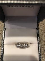 ROGERS & HOLLANDS 14kWG 3/8 Ct DIAMOND BAND in Kankakee, Illinois