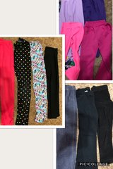 11 pair lot - girls size 7/8 pants in Bolingbrook, Illinois
