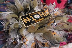 steelers wreath in Cherry Point, North Carolina