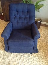 Lazyboy swivel rocking recliner nursery in Fort Campbell, Kentucky