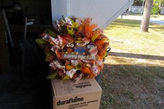fall wreath in Cherry Point, North Carolina