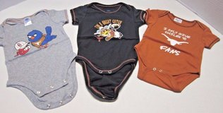 Texas Longhorns Baby Onesies 0-3Mths 6-9 Mths in Kingwood, Texas