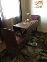 Dinette set in Fort Irwin, California