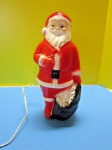 Vintage Christmas Santa Claus Blow Mold in Kingwood, Texas