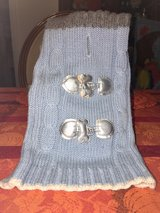 Blue/White/Silver Dog Sweater Size Small in Camp Lejeune, North Carolina