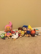 12 Piece Paw Patrol and Bubble Guppies Plush Lot in Fort Leonard Wood, Missouri