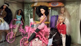 Barbie on bike in Warner Robins, Georgia