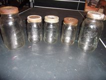 Vtg Moonshine Jars in Warner Robins, Georgia