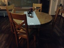 Table w/ 4 chairs in Spangdahlem, Germany
