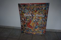Rock n' Roll glued puzzle picture in Baumholder, GE