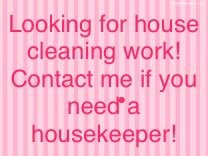 I'm looking for houses to clean in DeRidder, Louisiana