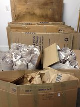 packing boxes with packing paper in Wilmington, North Carolina