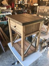 solid wood night stand end table in Camp Lejeune, North Carolina