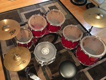 Pearl drumset in Bartlett, Illinois