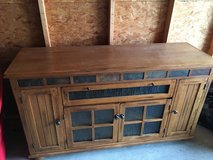Solid Wood Storage Container/TV Stand  Heavy in Elizabethtown, Kentucky