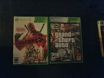 xbox 360 deadpool and GTA IV in El Paso, Texas