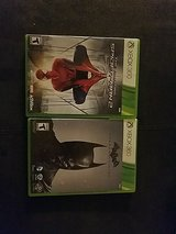 xbox360 amazing spiderman and batman in Fort Bliss, Texas