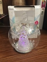 LED glass angel globe in Fort Riley, Kansas