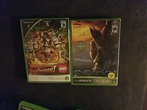 xbox360 indiana jones lego and halo3 in Fort Bliss, Texas