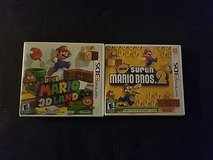 super mario3Ds n super mario bross2 in Fort Bliss, Texas
