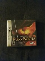 nintendo DS puss in boots in Fort Bliss, Texas
