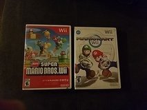 wii mariokart and super mariobross in Fort Bliss, Texas