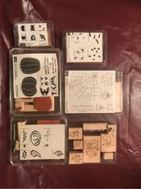 Fall/Halloween Rubber Stamps in Tinley Park, Illinois