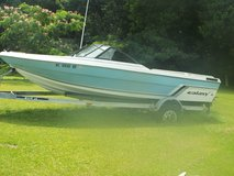 1986 19 foot Galaxy Open Bow with 350 chevy inboard in Cherry Point, North Carolina