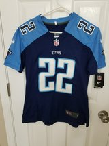 *REDUCED* Very Nice TITANS Ladies cut medium Jersey (New, Never Worn) $50.00 in Pleasant View, Tennessee