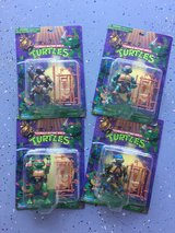 Vintage Teenage Mutant Ninja Turtle Action Figures in Yucca Valley, California