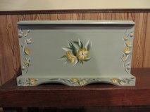 "BEAUTIFUL!!  Smaller 22""  Hand-Painted Chest   BRAND NEW!! in Lockport, Illinois"