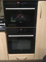 Siemens Top and Bottom Ovens in Lakenheath, UK