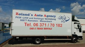 Car & Truck Rental by Roland's Auto Agency in Ramstein, Germany
