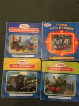Thomas the Tank Engine books and bag in Lakenheath, UK